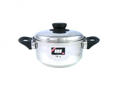 555 Stainless Steel 17 Series Cooking Pot