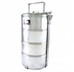 555 Stainless Steel Tiffin Carrier 4-Tier