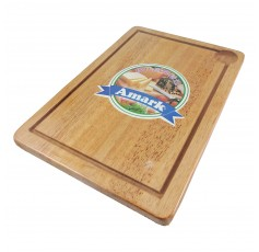 AMARK Wooden Chopping Board with Groove